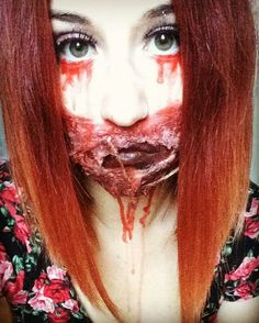 #makeup #blood