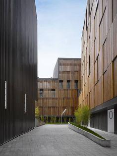Zigzag architecure