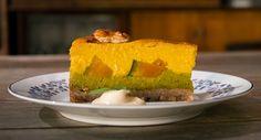 Osaka pumpkin and tofu cake