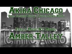 Amber Talley - AKIRA Chicago: Supersonic Boom 2013 | Fall Fashion Show
