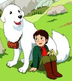 Belle e Sébastien 名犬ジョリィ è una serie TV anime creata dalla MK Company nel 1981 e mandata in onda dall'emittente NHK. Retro Cartoons, Cartoon Tv, Belle And Sebastian, Famous Dogs, Back In My Day, Old Anime, Animation, Kids Tv, Old Tv Shows