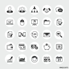 Business Total Vector Icon Set Stock Vector - Illustration of application, career: 54757919 Free Vector Files, Vector Icons, Vector Free, Consulting Logo, Abstract Photos, Icon Set, Finance, Cloud Computing, Business