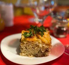 Μακαρόνια με κιμά στο φούρνο ! Lasagna, Food And Drink, Ethnic Recipes, Lasagne