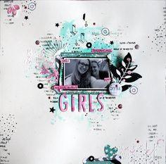 Graffiti Girl – Page de Carine