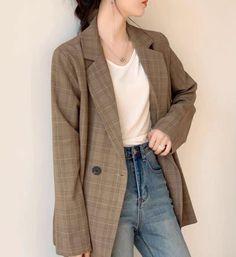 Blazer, Jackets, Women, Fashion, Down Jackets, Moda, Fashion Styles, Blazers, Fashion Illustrations