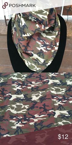 Camouflage bandana Goes perfect with a bomber jacket 100 cotton You can no longer live without one of each color in your life ASAP Alquimia Accessories Scarves & Wraps