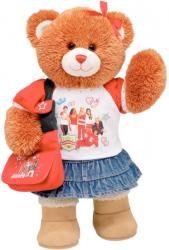 High school musical bear at build a bear workshop Disney High Schools, Build A Bear Outfits, Teddy Bear Clothes, Teddy Bear Pictures, Cute Stuffed Animals, High School Musical, Cute Bears, Pets, Teddy Bears