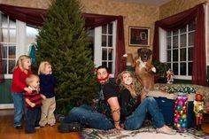 Funny Christmas card with dog twist Funny Family Christmas Cards, Christmas Card Pictures, Christmas Card Crafts, Christmas Humor, Family Humor, Traditional, Dog, Couple Photos, Christmas Card Photos