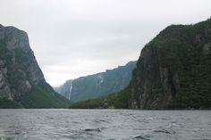 Western Brook Pond fjord, Gros Morne Gros Morne, Pond, Westerns, River, Adventure, Mountains, Nature, Summer, Outdoor
