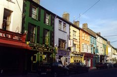 Kilkenny - Mallow, coloured street