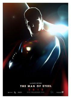 SUPERMAN : Man Of Steel (2012) ARTWORK by BIG JELLYFISH®, via Flickr