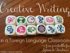 Debbie's Spanish Learning: Story Cubes {Fluency in Second Language Writing}