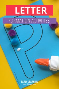 Teach kids correct letter formation with these fun, hands-on activities. Better than a worksheet, use these printable letter cards for engaging alphabet activities. Teach your preschool and pre-k kids how to build uppercase and lowercase letters with proper formation (includes a dot as a visual cue fo the starting point). Find 20 different ideas to use these little letter sheets to teach the basic skills that will help your kids with handwriting letters. Handwriting Activities, Alphabet Activities, Language Activities, Hands On Activities, Literacy Activities, Visual Literacy, Early Literacy, Teaching Letters, Teaching Kids