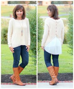 Perfect sweater for some cool fall weather.
