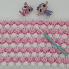 Crochet Knit Baby Blanket Making - hakeln Knitted Baby Blankets, Baby Blanket Crochet, Crochet Baby, Baby Knitting Patterns, Knitting Stitches, Crochet Patterns, Crochet Angel Pattern, Baby Booties, Crochet Projects