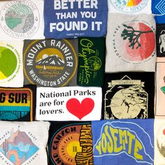National Park Tees