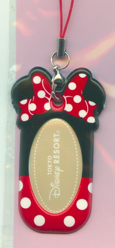 Tokyo Disney Pressed penny keychain holder