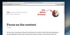 Less – a free super minimal WordPress Theme