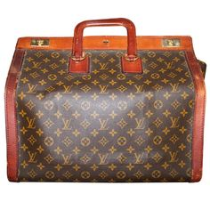 Louis Vuitton Doctor's Bag   France   1950's   In the Gladstone style