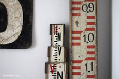 one year old - Sania Pell - Freelance Interior Stylist, Consultant and Creative Director, London Wood Crafts, Diy Crafts, Going Postal, One Year Old, Letters And Numbers, Vintage Industrial, Vignettes, Lettering, Typography