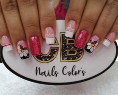 Nail Colors, Nail Designs, Nail Art, Nails, Beauty, Classy Gel Nails, Pretty Gel Nails, Cute Nails, Long Nail Designs
