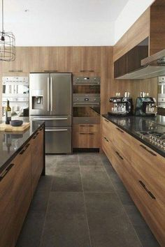 Popular Contemporary Kitchen Design Ideas 42 #kitcheninteriordesignideas