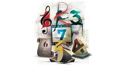 1 Música  2 Dança  3 Pintura  4 Escultura  5 Arquitetura  6 Literatura  7 Cinema