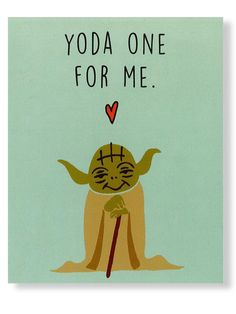LOVE this for Valentine's Day, perfect for Star Wars fans (both of us)