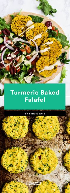 9 Falafel Recipes That Will Get You Hooked on Mediterranean Meals Spicy Falafel Recipe, Lebanese Falafel Recipe, Baked Falafel, Corn Soup Recipes, Vegetable Recipes, Vegetarian Recipes, Healthy Recipes, Veggie Meals, Healthy Food