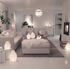 I like the idea of bits of bright light throughout the room