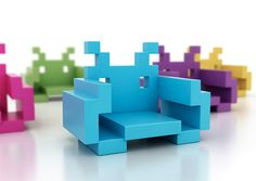Space Invader Chair by Dorothy | Inspiration Grid | Design Inspiration