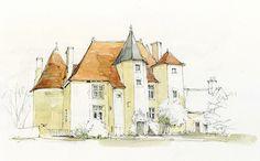 Château de Ristz, Besson, Allier, France | par Linda Vanysacker - Van den Mooter