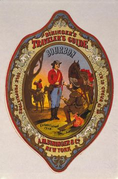 Important Events in Bourbon's History: 1821- Bourbon Advertising Begins