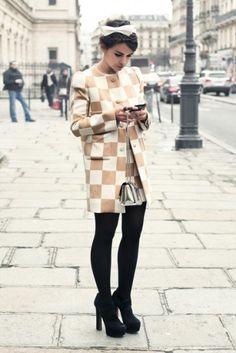 Completo Louis Vuitton a Parigi