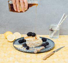 Recept: Chia citroen-pannenkoeken