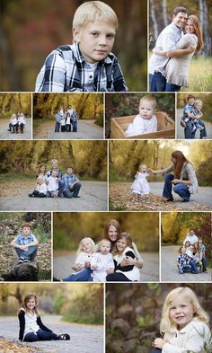 Family Photography poses.  Utah Family Photographer Outfit choices for family pictures