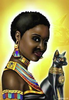 Bast Egyptian Goddess of Pleasure