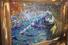 Tomitha's Wave Glass Works by Kelly