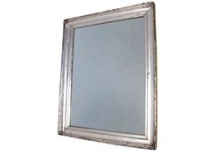 Lucca Antiques - Wall Decor: Spanish Silvered Mirror