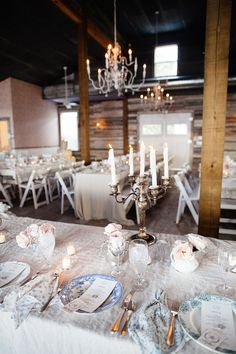 Setting the scene with mismatched china and floral napkins www.shabbychic.com