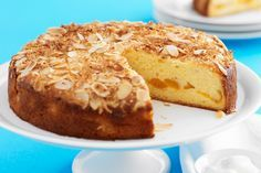 This classic cake is wonderfully moist and flavoursome thanks to natural yoghurt and plump apricots.