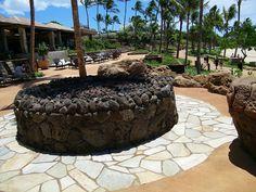 Fire Pit Fountain, Backyard, Fire, Earth, Places, Disney, Pretty, Outdoor Decor, Patio