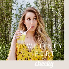Cheeky is thrilled to announce our newest collaboration with the incredible creator and style icon, Whitney Port! Whitney Port is a is a fashion designer…