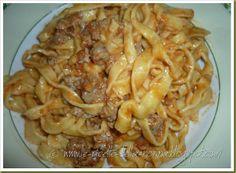 Le Ricette della Nonna: Tagliatelle all'uovo con ragù di salsiccia