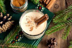 British Desserts, Eggnog Fudge, Eggnog Recipe, Holiday Drinks, Holiday Recipes, Christmas Recipes, Winter Recipes, Homemade Christmas, Ponche Navideno