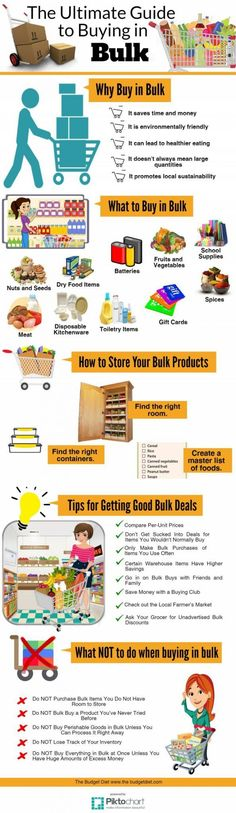Save More and Spend Less with these Clever Bulk Buying Guide Tips and Tricks | Frugal and Thrifty Living Ideas