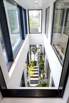 Jamera Kivitalo talvipuutarha Architect Design, Villa, Stairs, Windows, Projects, Home Decor, Log Projects, Stairway, Blue Prints
