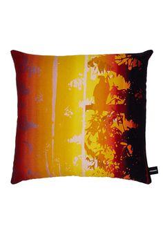 Kouamo   Exotic Vine Cushion (Sunset) Cockpit Arts, Paint Strokes, Sunset Colors, Tropical Birds, Coffee Shop, Overlays, Vines, Exotic, It Cast
