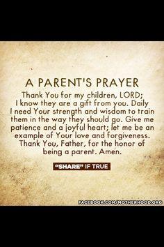prayer, parent