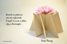 Origami - Vaso Young de Flaviane Koti